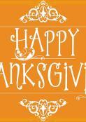 AWCH Annual Thanksgiving Dinner