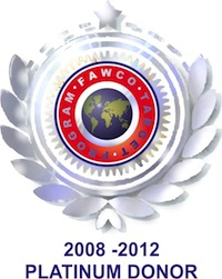 The AWCH is a Platinum Donor to FAWCO's Target Program