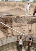 The Hazarwadi Open Well is finished!