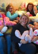 "AWCH donates ""From the Heart Pillows"" to the Mariahilf Helios Hospital"